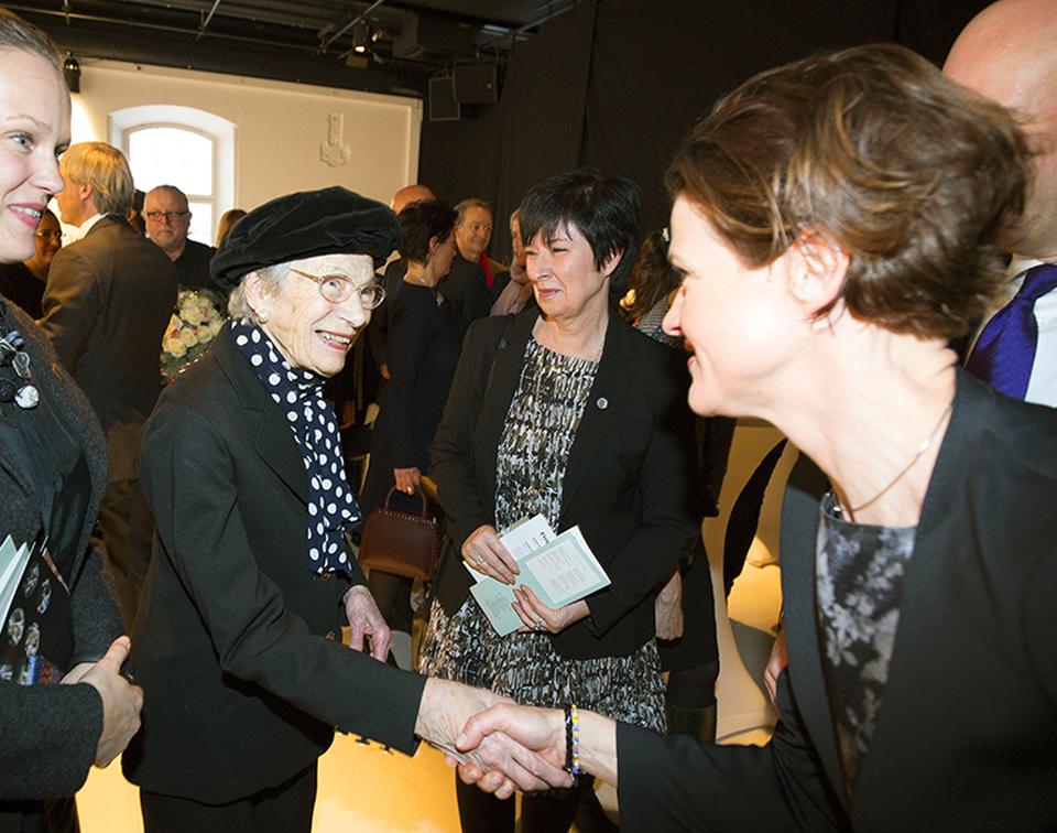 Nina Lagergren, Mona Sahlin och Anna Kinberg Batra