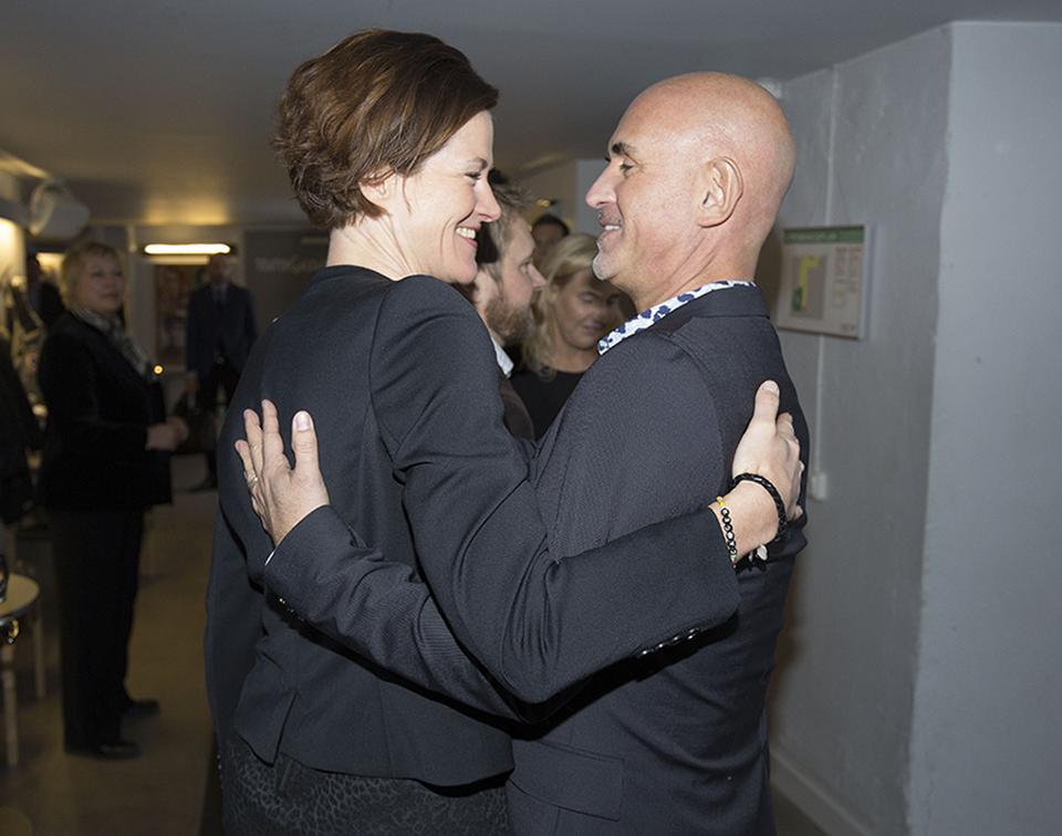 Anna Kinberg Batra och Micael Bindefeld