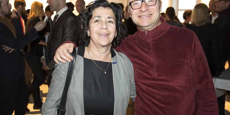 Lena Posner-Körösi och Jonas Gardell